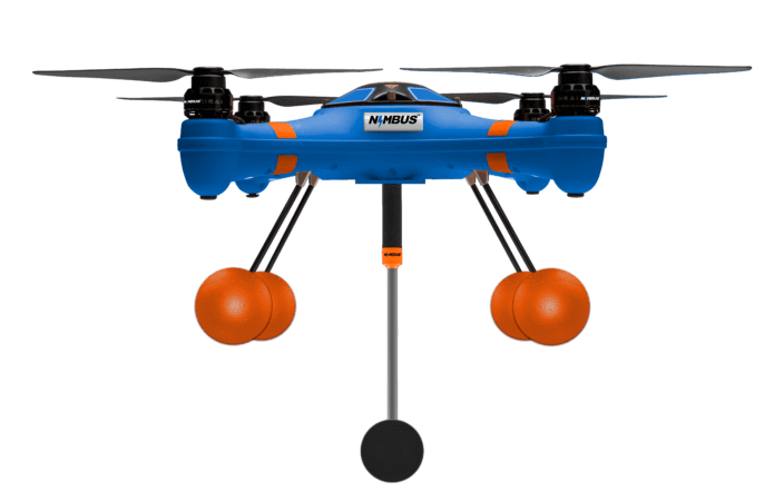 NIMBUS™ Sensor on Waterproof Drone