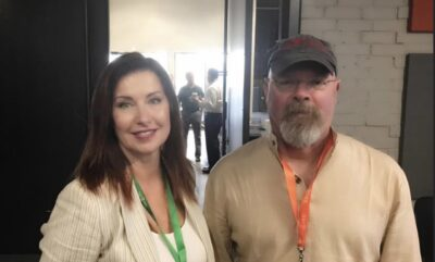 Entropy's CEO, Tami Fitzpatrick and MythBusters, Jamie Hyneman SOFWERX USSOCOM S&T Special Reconnaissance Rapid Prototyping event.
