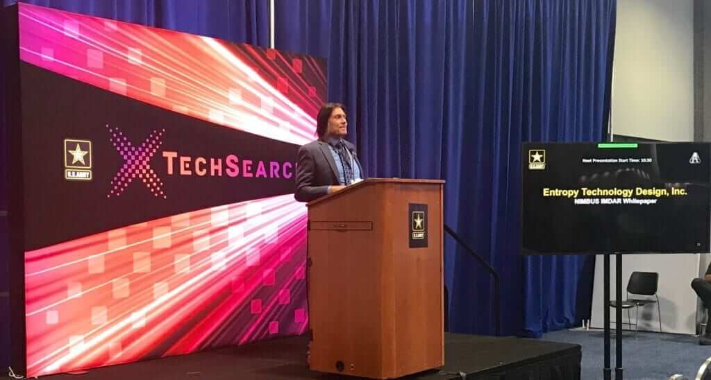 Edward Shaver at TechSearch conference