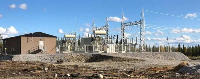 Electrical Transformer Site